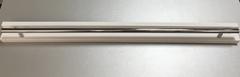 Металлическая ручка в сборе с металлической планкой для дверки духовки плиты Нововятка