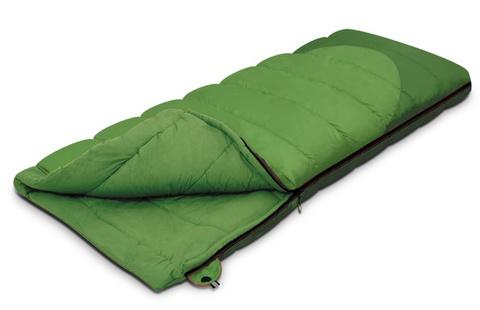 спальник Alexika SIBERIA зеленый левый