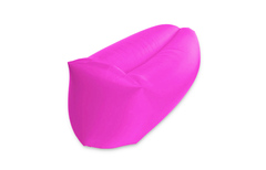 Лежак lamzac розовый