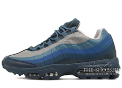 Кроссовки Мужские Nike Air Max 95 Ultra Black Grey Blue