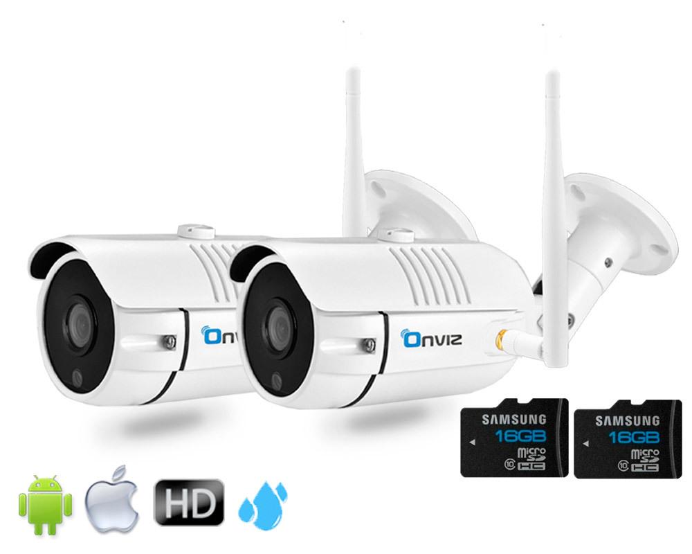Комплекты видеонаблюдения (IP Wi-Fi камеры 2020 года) Комплект из 2-х Уличных Wi-Fi  камер глав2.jpg
