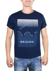 17615-2 футболка мужская, синяя