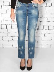 6851 джинсы женские, синие