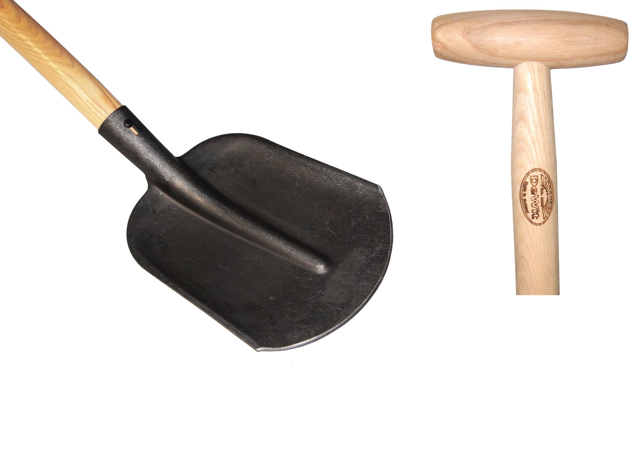 Голландская садовая совковая лопата DeWit