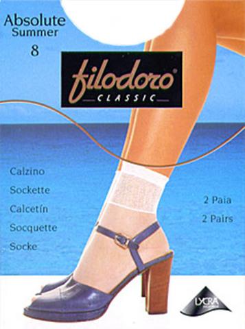 Носки Absolute Summer 8 (2 пары) Filodoro