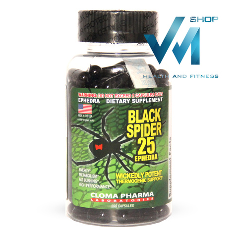 Cloma Pharma Lab Black Spider 25