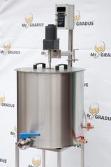 Мини пастеризатор (сыроварня) 60 литров NEW