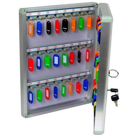 Шкаф для ключей А48К для 48 ключ.,230х60х377