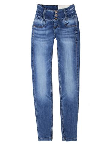 GJN011285 джинсы для девочек, синие