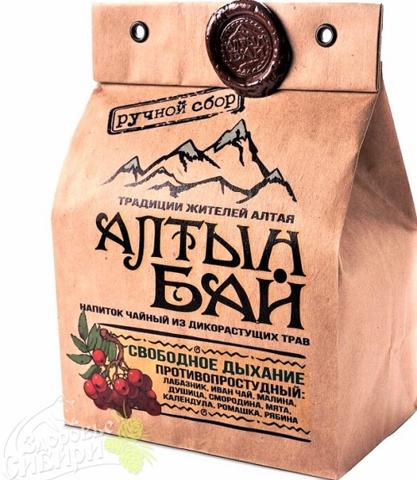 Иван-чай Свободное дыхание противопростудный, АлтынБай 100 г