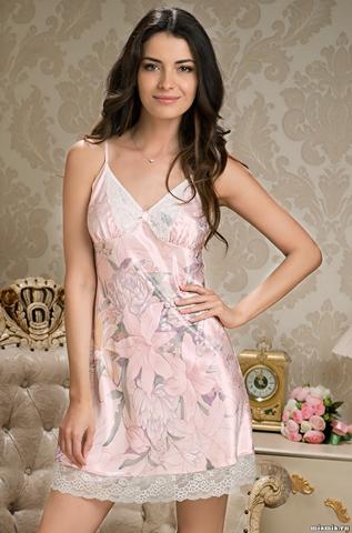 Сорочка женская шелковая MIA-AMORE  EDEM   Эдем  5951