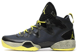 Кроссовки Mужские Nike Jordan 28 SE Dark Grey Yellow
