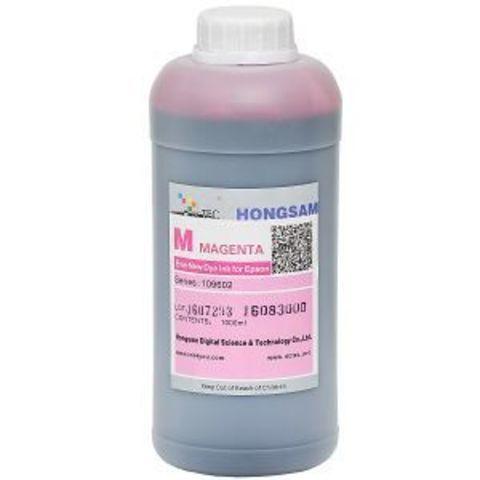 Чернила DCtec magenta (пурпурный) 1000 мл. Серия 901300 (Ранее 109602)