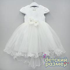 Платье (брошь, кружево, сетка)