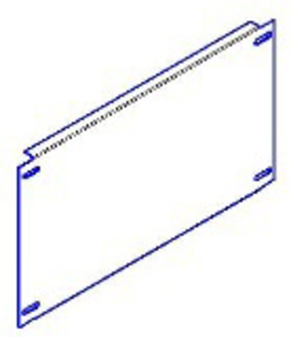 Панель монтажная 500х545 для ЩМП-х.6.4 TDM