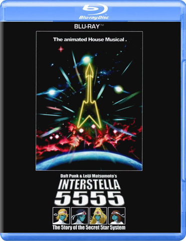 Daft Punk & Leiji Matsumoto / Interstella 5555 : The 5tory Of The 5ecret 5tar 5ystem (Blu-ray)