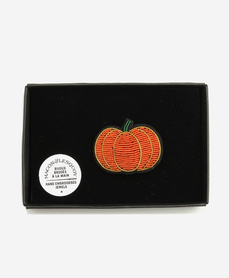 Брошь Pumpkin