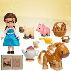 Кукла малышка Белль (Belle) в чемоданчике - Красавица и чудовище, Disney Animators' Collection