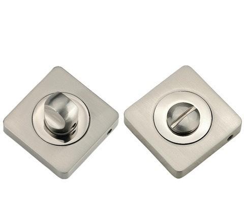 Фурнитура - Завёртка К Ручкам квадратная TIXX КВ ВК 05, цвет никель матовый/никель блестящий