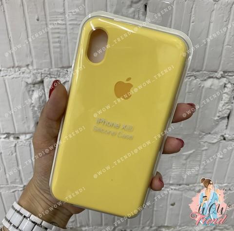 Чехол iPhone XR Silicone Case /yellow/ желтый 1:1
