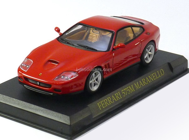 Ferrari 575 Maranello red 1:43 Eaglemoss Ferrari Collection #14