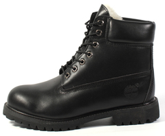 Timberland-Classic-All-Black-Leather-With-Fur-Timberlend-Klassicheskie-Polnost'u-Chernye-Kozhanye-s-Mekhom