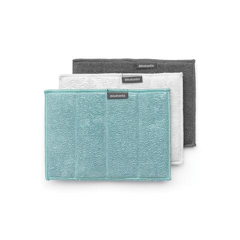 Набор чистящих салфеток из микрофибры (16x22 см), 3 шт., арт. 117725 - фото 1