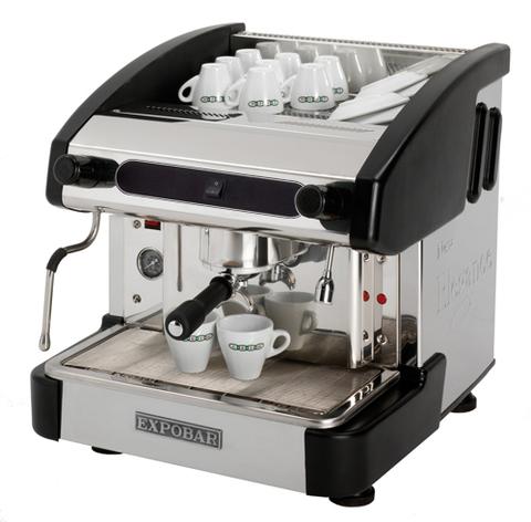 фото 1 Профессиональная кофемашина Crem International Expobar New Elegance Mini Pulser 1 GR Black на profcook.ru