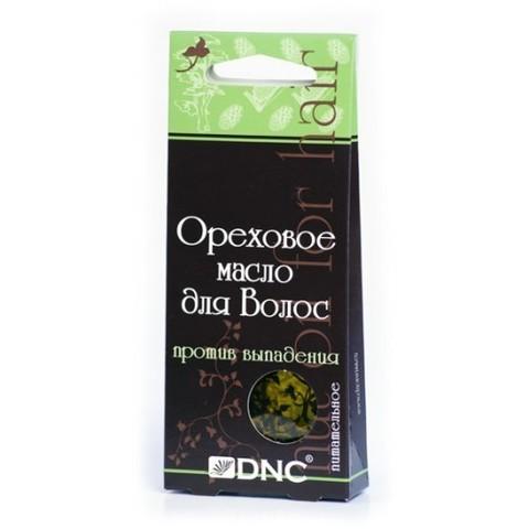 DNC Масло ореховое для волос питательное (против выпадения) 3*15г
