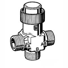 Клапан 3-ходовой зональный Schneider Electric VZ32-G1/2-0,63
