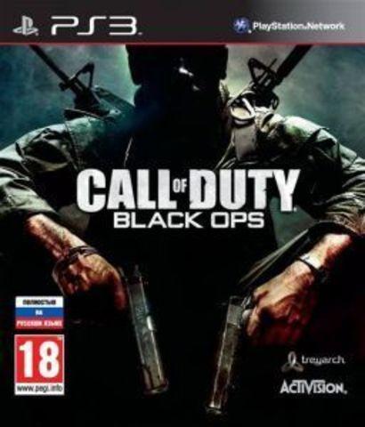 PS3 Call of Duty: Black Ops (c поддержкой 3D, английская версия)