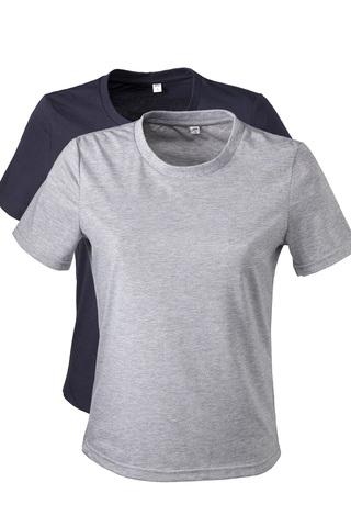 Две женских футболки разных цветов
