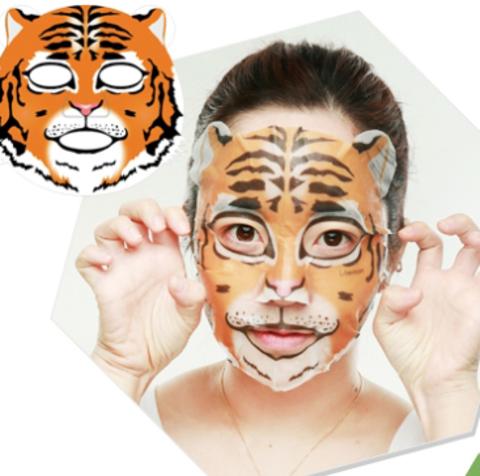 BERRISOM Animal Маска таканевая с экстр. женщеня Animal mask series - Tiger