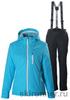 Женский утеплённый прогулочный лыжный костюм Nordski Premium Aquamarine
