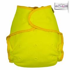 Подгузник из  хлопка с вкладышем Mamalino Желтый (3 - 16 кг)