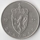 K5282, 1977, Норвегия, 5 крон