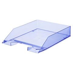 Лоток для бумаг ATTACHE, тонированный синий 4шт/уп