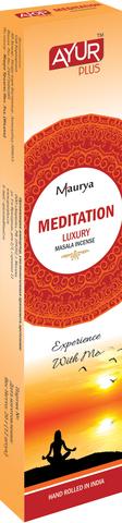 """Благовония ЛЮКС МАСАЛА """"MEDITATION"""" - МЕДИТАЦИЯ, 20 г (Индия)"""