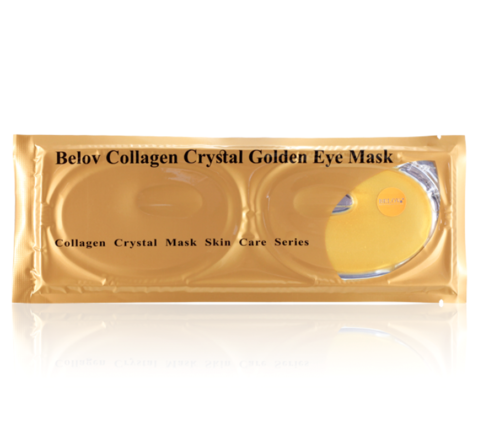 Коллагеновая маска для глаз многоразовая Collagen Crystal Eye Mask, 20 гр