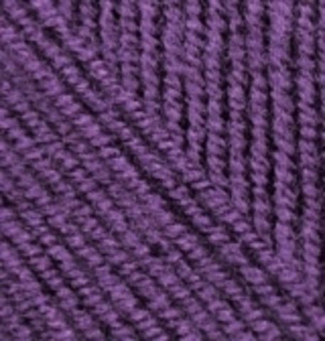 Пряжа Alize Superlana KLASIK 111 фиолетовый, фото