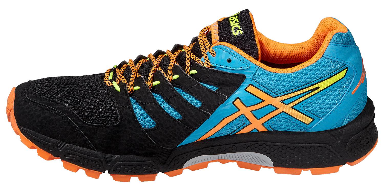 Мужские кроссовки внедорожники Asics Gel-FujiAttack 4 G-TX (T535N 9930) черные