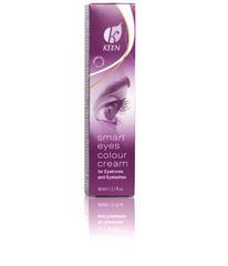 KEEN краска для бровей и ресниц 60 мл, коричневая (KEEN smart eyes, braun) 60 мл