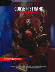Dungeons & Dragons RPG - Adventure: Curse of Strahd (Проклятие Страда)