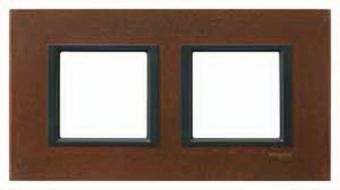Рамка на 2 поста. Цвет Кельтская сталь. Schneider electric Unica Class. MGU68.004.7A3