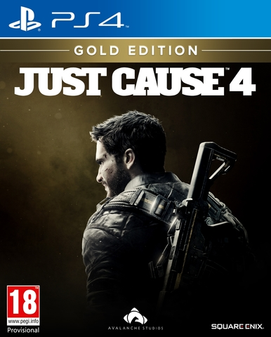 PS4 Just Cause 4. Gold Edition (русская версия)