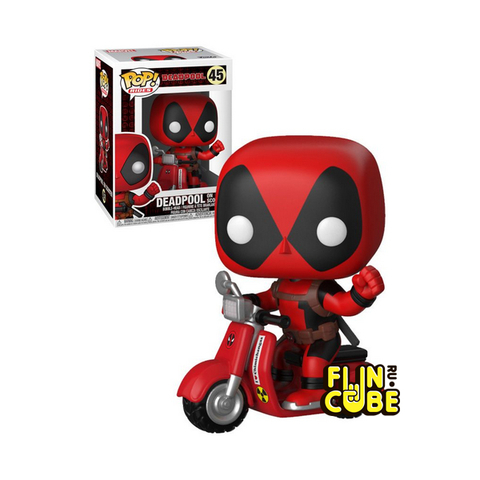 Funko Deadpool & Scooter (No.48)