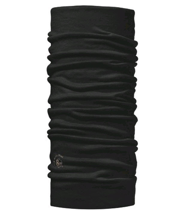 Шарф-труба шерстяной Buff Black