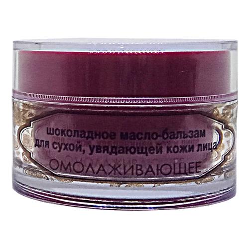 Шоколадное масло-бальзам для сухой и увядающей кожи лица омолаживающее Шоконат