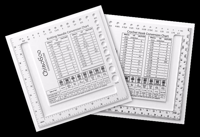 1091-SQ Рамка-калибратор Chiaogoo для определения плотности полотна и размера спиц