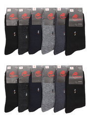 A1035 носки мужские 41-47 (12 шт.) цветные
